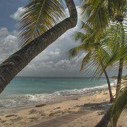 Isla Catalina in HDR
