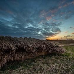 Kalenberg rond zonsondergang