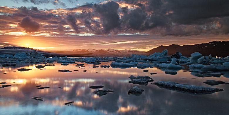 Jokulsarlon, Ijsland