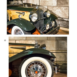 Foto blad 2 van 2 Packard 840 Deluxe Sport  Pheaton