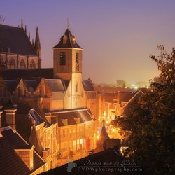 Hooglandsekerk Leiden zijaanzicht