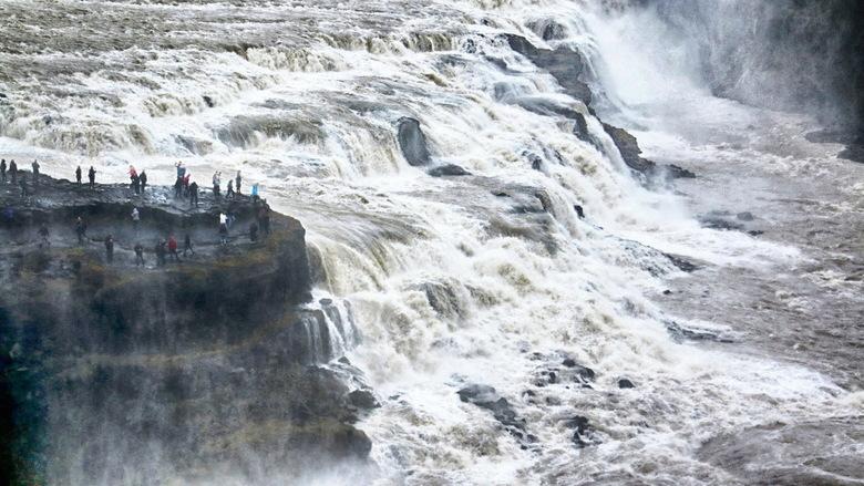 IJsland -48- - Gullfoss waterval
