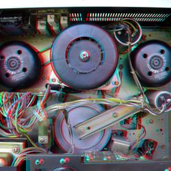 Inside AKAI Tapedeck GX210D 3D