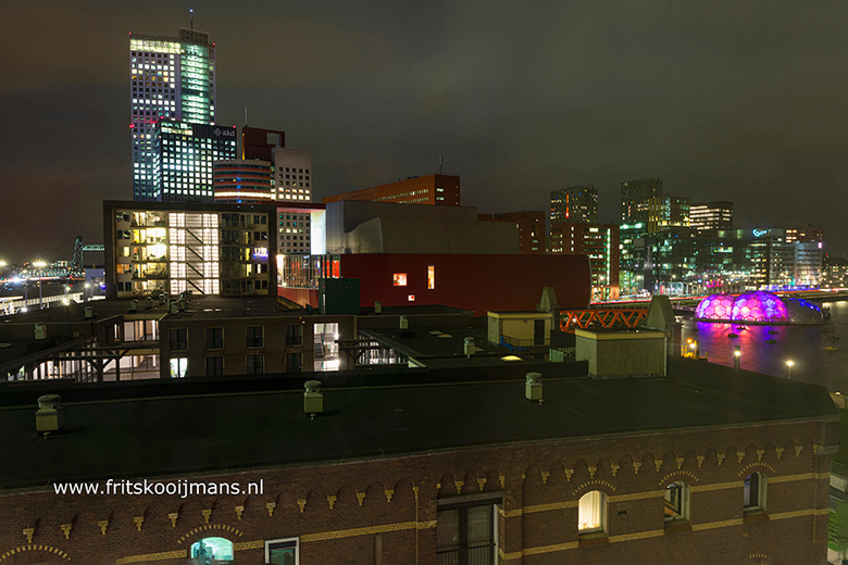 Uitzicht vanuit hotel Bruno in Rotterdam - 20200221 7364 Uitzicht vanuit hotel Bruno in Rotterdam