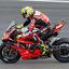 Alvaro Bautista hard inremmen voor de GT chicane