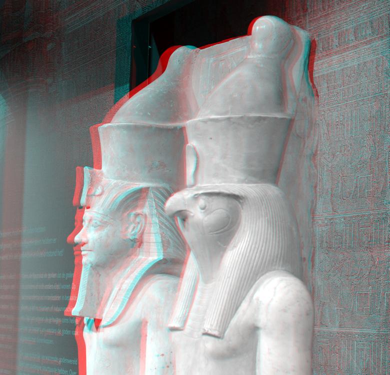 Goden van Egypte RMO Leiden 3D - Goden van Egypte RMO Leiden 3D
