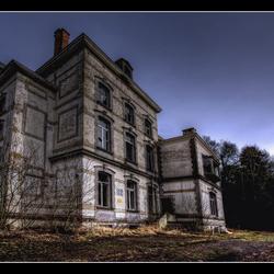 Verlaten Chateau