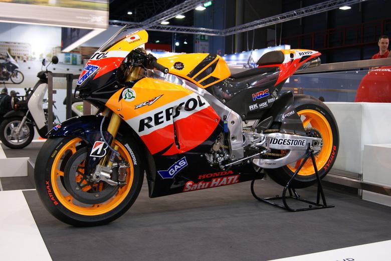 Repsol - Honda Repsol motor op de MOTORbeurs in Utrecht.