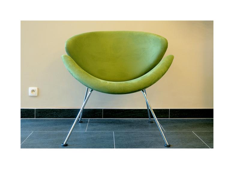 The Chair - Meubelstuk in het splinternieuw rusthuis. HDR-bewerking