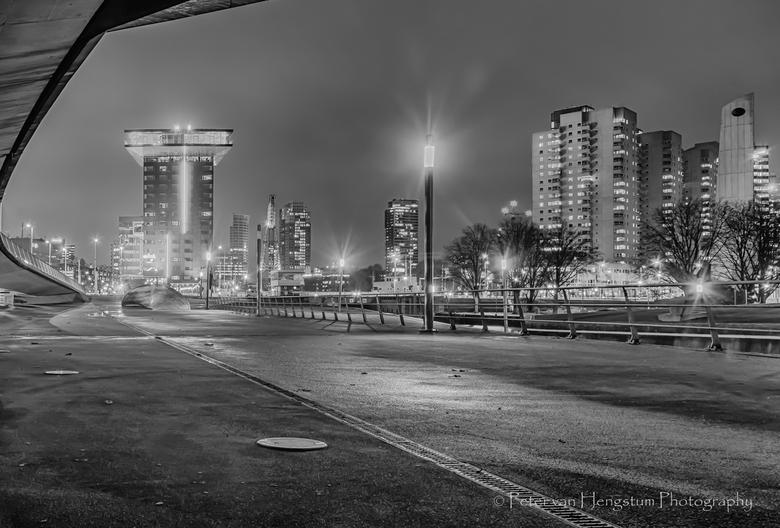 Zicht op de stad -