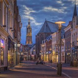 Winkelstraat binnenstad Amersfoort