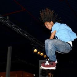 'Rasta' skater
