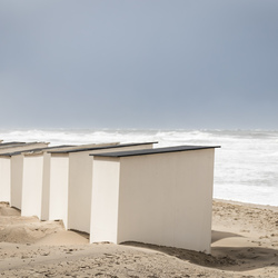 Texel - strandhuisjes bij Paal 9...