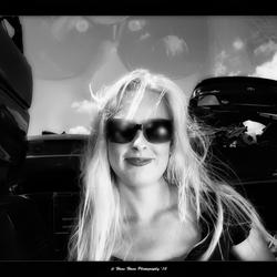 Brenda blur Sunglasses Infrared