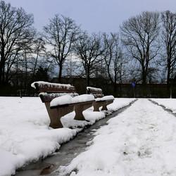 Toen er nog sneeuw lag...
