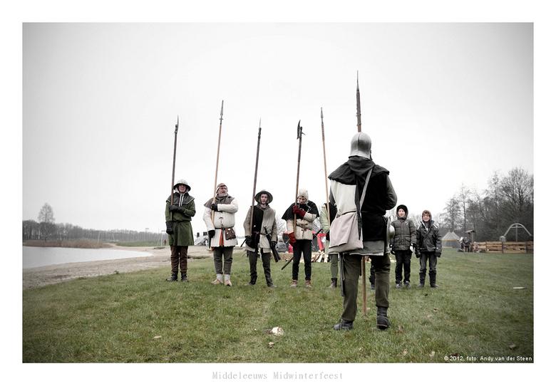 Middeleeuws Midwinterfeest - 28 december 2012<br /> Recreatiegebied Zeumeren, Voorthuizen
