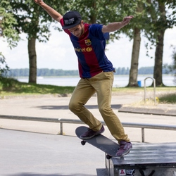 Skateboarder