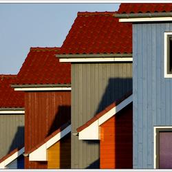 Groningen, 'trapgevels' Reitdiephaven
