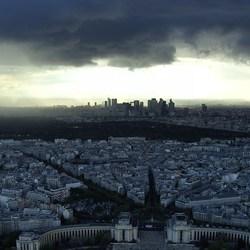 La Défense, gezien vanaf de Eiffeltoren