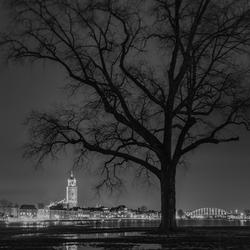 Deventer bij nacht