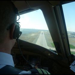 Bewerking: Landing JFK Airport.