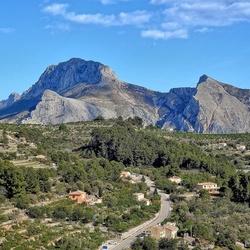 Spaans landschap.