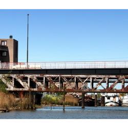 Rivier de Donge Oude Spoorbrug Geertruidenberg