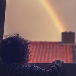 I see the rainbow