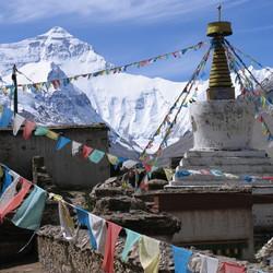Hoog in de Himalaya