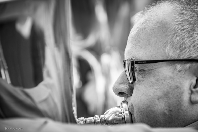 A man and his Tuba!