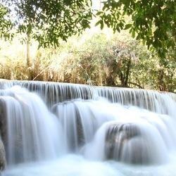 Waterval Tat Kuang Si - Laos