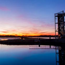 Zonsondergang @ Enschede