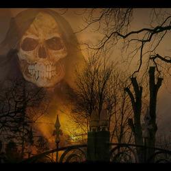 het spookt............