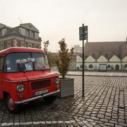 Krakau - Kazimierz (Joodse wijk) - Nysa bestelbusje