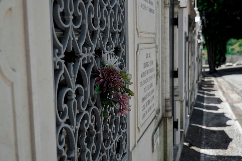 Cemitéro dos Prazeres - De grootste begraafplaats van Lissabon, Cemitério dos Prazeres, met meer dan 70 symmetrisch aangelegde paden en goed verzorgde