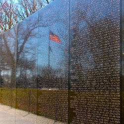 vietnam memorial, Washington