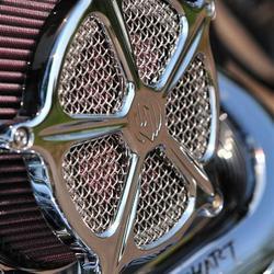 Harley Davidson Fatboy Close-up