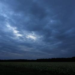 Donkere wolken boven Drenthe