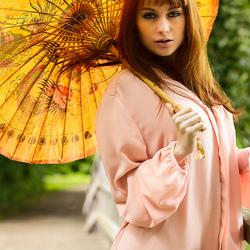 parasol - golden glow