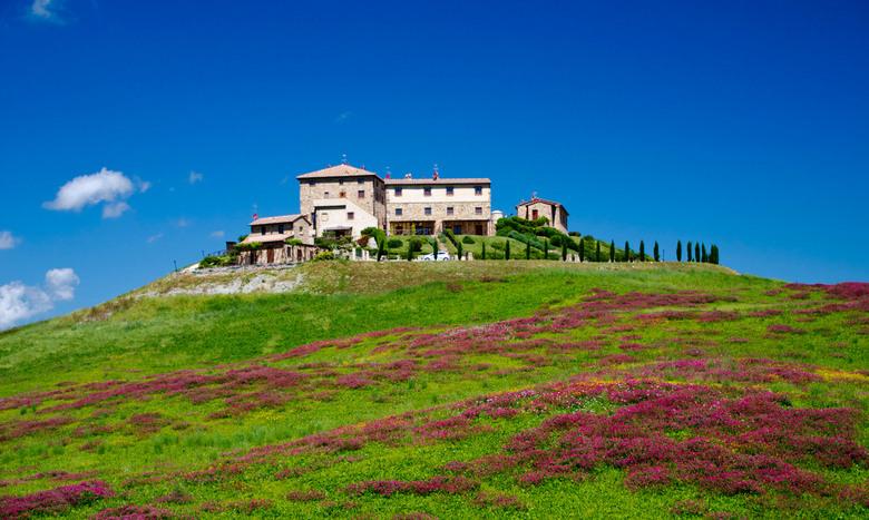 Mooi Toscane - Schitterende villa op een heuvel in Toscane