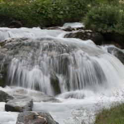 waterval bij Jamtalhutte