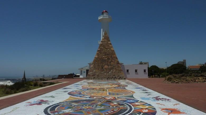 Mozaiek - Mozaïek in zuid Afrika.