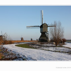 Kinderdijk winter 2010