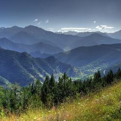 Gebergte in Andorra