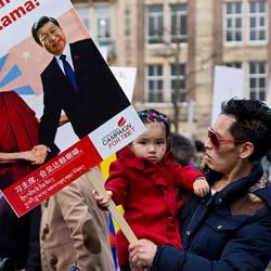 Jonge demonstrant