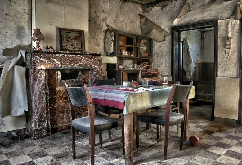 The lost dining table