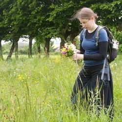 Barbara flower picking 05