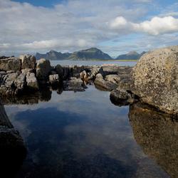 View on Lofoten mountains II