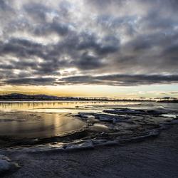 sunset Thingvellir National Park - Iceland