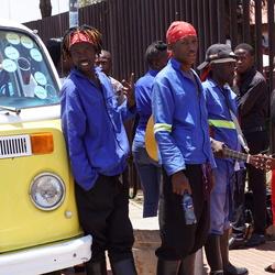 Soweto gezelligheid op straat